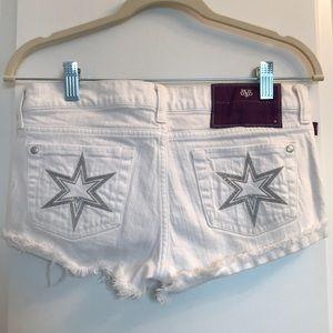 Pants - ✨Denim by Victoria Beckham dVb White Jean Shorts
